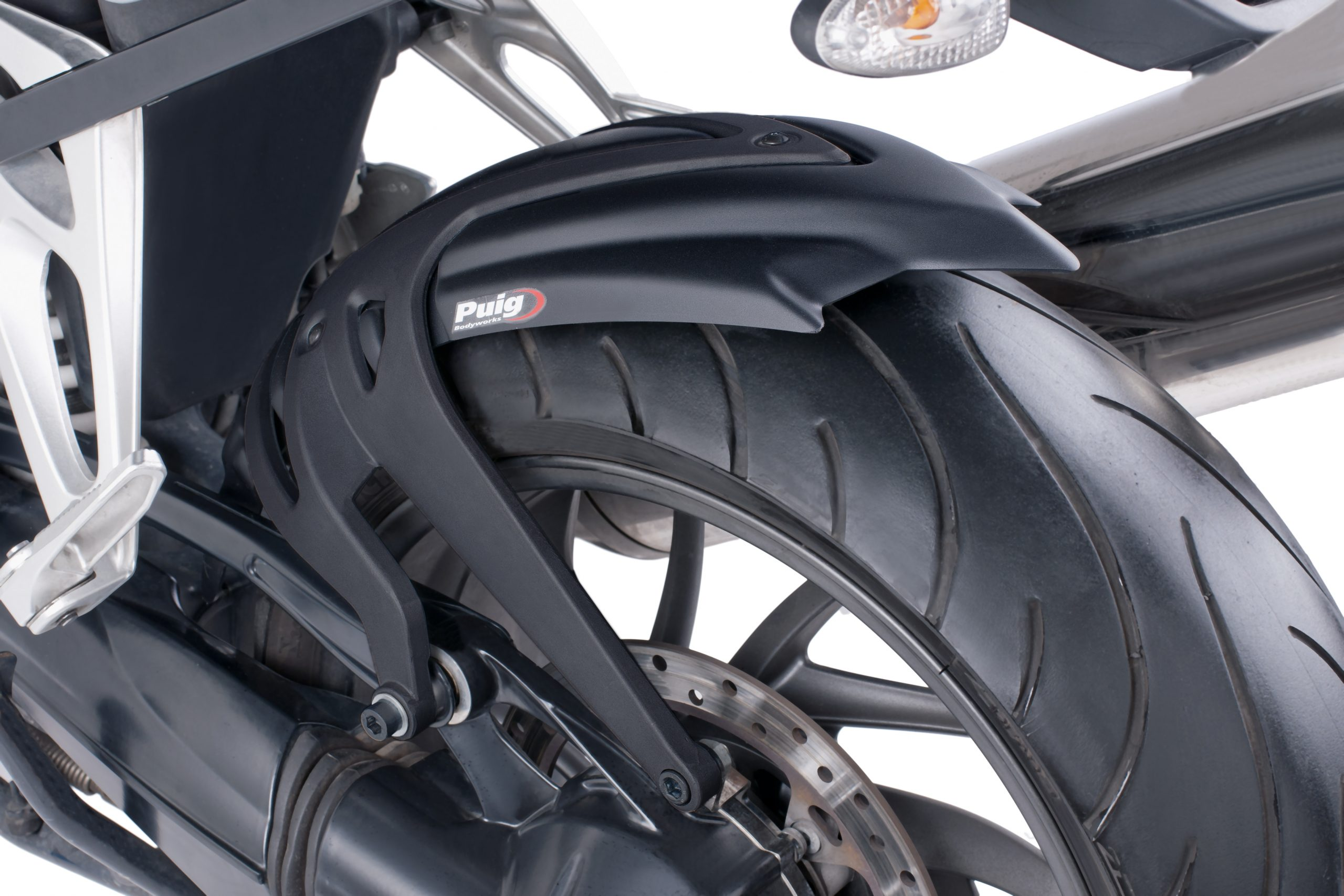 Guardabarros Trasero BMW K1200R/S (2004-2008) Puig Color Negro Mate - Ref. 5887J