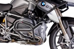 BMW R1200GS LC (2013) Defensas Inferiores + Superiores Puig Color Negro Ref 6538N + 6814N