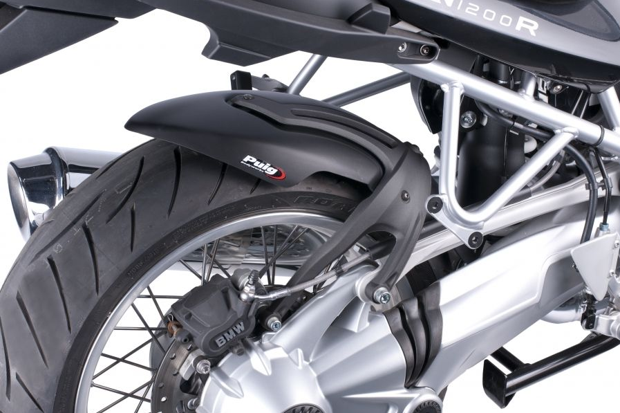 Guardabarros Trasero BMW R1200R (2006-2014) Puig Color Negro - Ref. 5861J