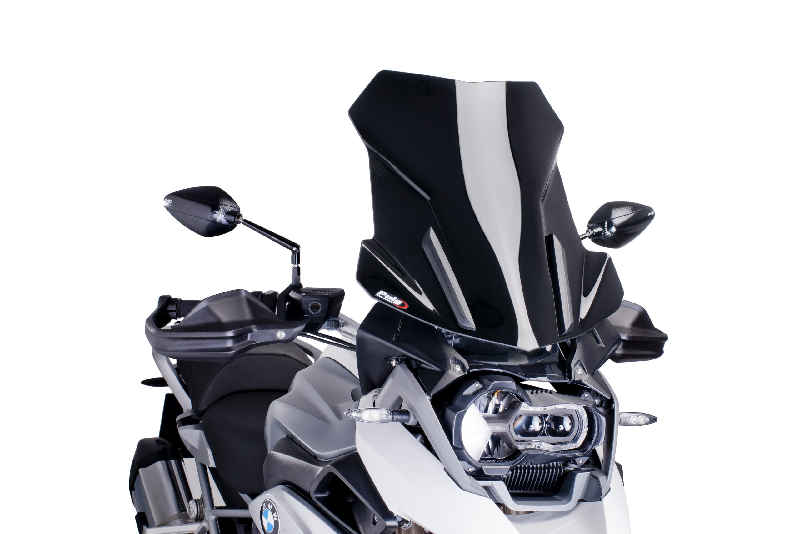 Cúpula Touring BMW R1200GS LC (2013-2017) Puig Color Negro - Ref. 6486N
