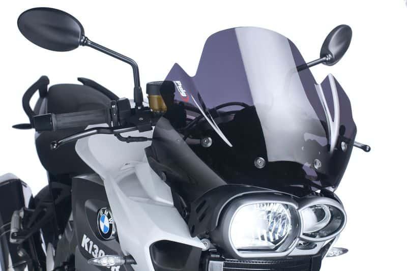 Cúpula Naked Sport para BMW K1300 R (2009 -2016) Puig Color Ahumado Oscuro. Ref. 4940F