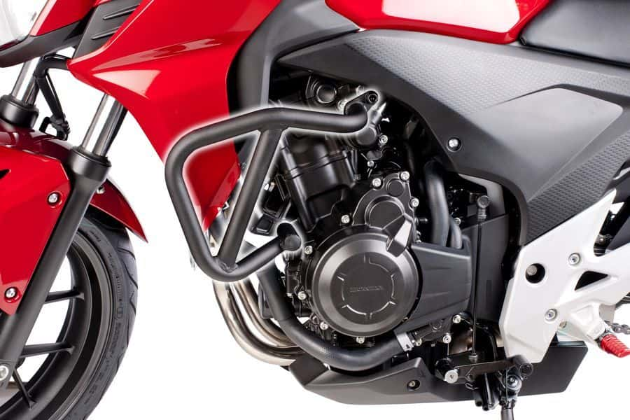 Defensas HONDA CB500F (2013-2017) Puig Color Negro Mate - Ref. 6539N